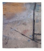 Artist Sidewalk 2 Fleece Blanket