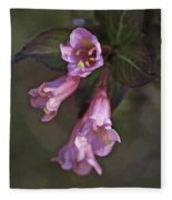 Artistic In Pink Fleece Blanket