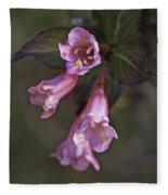 Artistic In Pink Fleece Blanket