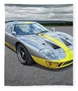 Power And Performance - Ford Gt40 Fleece Blanket