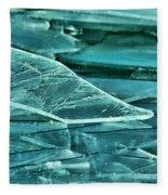 Aqua Ice Fleece Blanket