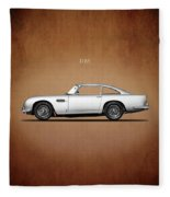 The Aston Martin Db5 Fleece Blanket