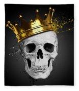 Royal Skull Fleece Blanket