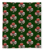 Club Playing Card Shape  Fleece Blanket