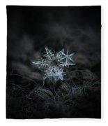 Snowflake Of 19 March 2013 Fleece Blanket