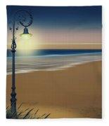 Beach And Coastal Lighting Fleece Blanket