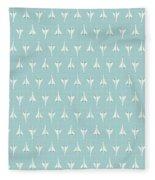 Concorde Jet Airliner - Sky Fleece Blanket