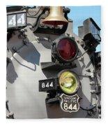 Up 844 Bell And Headlights Fleece Blanket