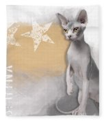 Sphynx No 04 Fleece Blanket
