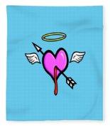 Cupids Heart Fleece Blanket