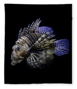 Majestic Lionfish Fleece Blanket