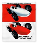Monaco 1959 Fleece Blanket