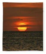Arubian Sunset Fleece Blanket