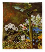 Arum And Conservatory Plants 1864 Fleece Blanket