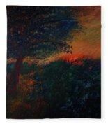As The Sun Sets Fleece Blanket