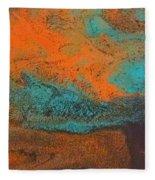As  Water Flows Fleece Blanket