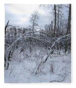As Winter Returns Fleece Blanket