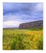 Asbyrgi Canyon Fleece Blanket