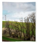 Ashes To Ashes Fleece Blanket