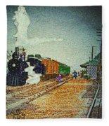 Ashland Station Fleece Blanket