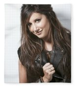 Ashley Tisdale Fleece Blanket
