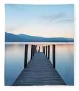 Ashness Bridge  Fleece Blanket