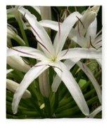 Asiatic Poison Lily Fleece Blanket