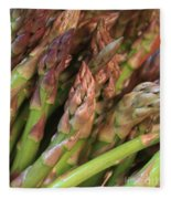 Asparagus Tips 2 Fleece Blanket