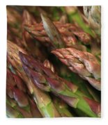 Asparagus Tips Fleece Blanket