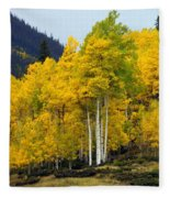 Aspen Fall 3 Fleece Blanket