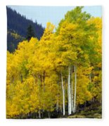 Aspen Fall Fleece Blanket
