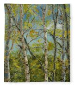 Aspen Glow Fleece Blanket