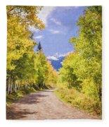 Aspen Road Fleece Blanket