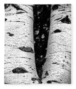 Aspen Tree Art Fleece Blanket