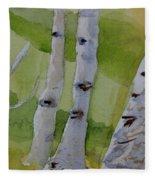 Aspen Trunks Fleece Blanket