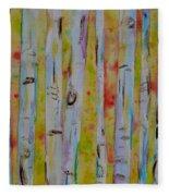 Aspens Abstract II Fleece Blanket