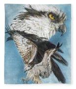 Assail Fleece Blanket by Barbara Keith