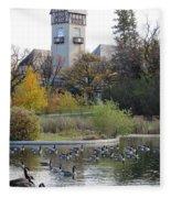 Assiniboine Park Pavilion Fleece Blanket