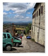 Assisi Italy I Fleece Blanket