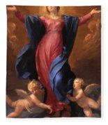 Assumption Of The Virgin 1580 Fleece Blanket