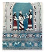 Assyrian King, C720 B.c Fleece Blanket