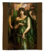 Astarte Syriaca Dante Gabriel Rossetti Fleece Blanket