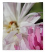 Aster Pink Fleece Blanket