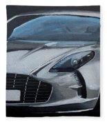 Aston Martin One-77 Fleece Blanket