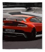 Aston Martin Vantage Gt12 - Trackday Fleece Blanket