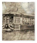 Astoria Trolley Fleece Blanket