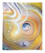 Astral Vision. Earth And Its Energy Fleece Blanket