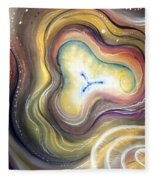 Astral Vision. Mind Concentration Fleece Blanket