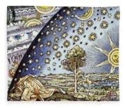 Astrology, 16th Century Fleece Blanket