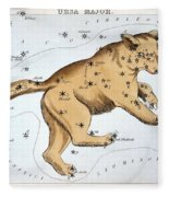 Astronomy: Ursa Major Fleece Blanket